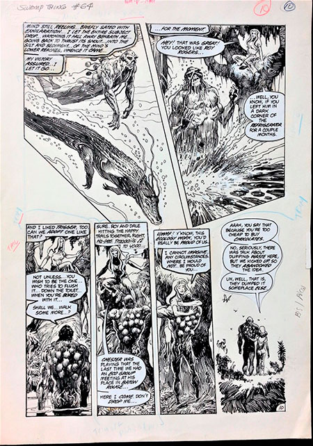 Original Comic Art for Sale and Auction Results – Jan. 18 2019