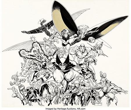 Art-Adams-XMen-Original-Art