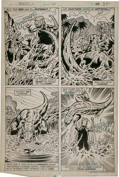 herb-trimpe-original-comic-art