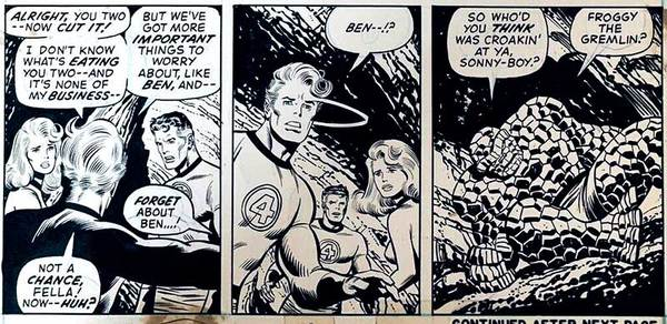 john-buscema-original-art