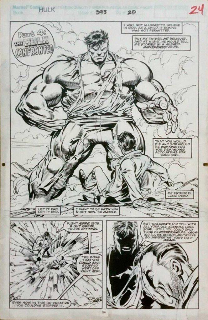 dale-keown-incredible-hulk-comic-art