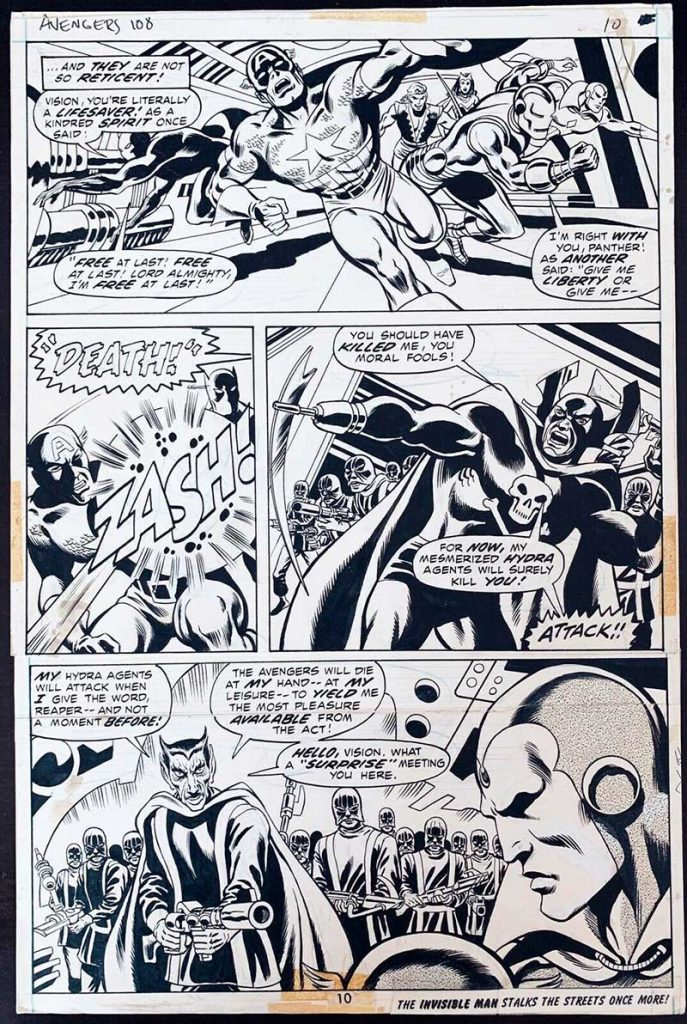 don-heck-avengers-original-comic-art