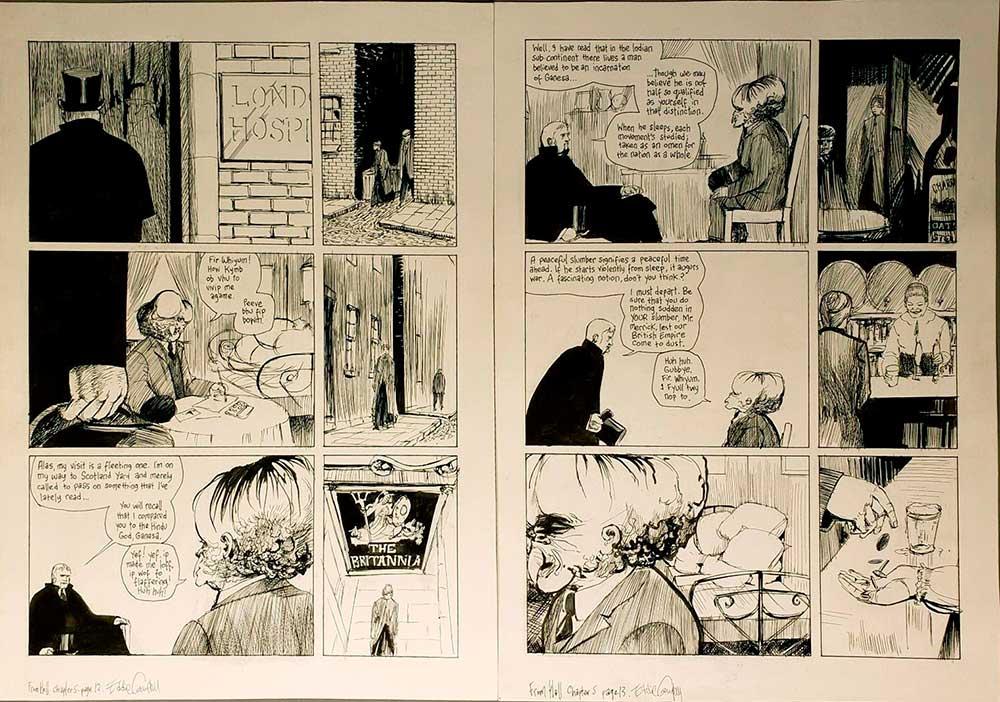 from-hell-original-comic-art