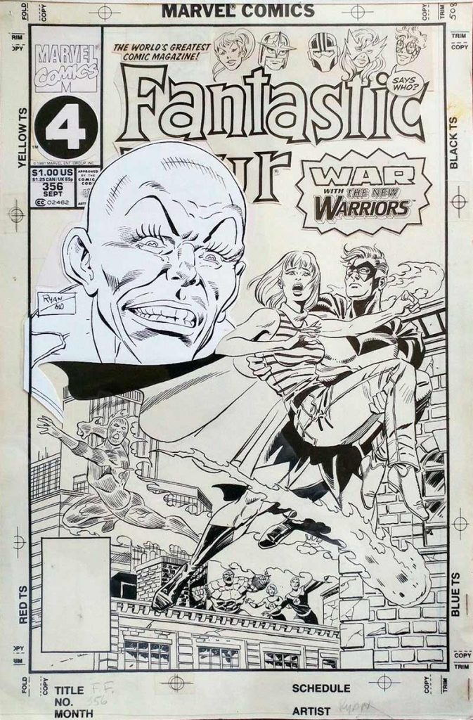 fantastic-four-original-cover-art