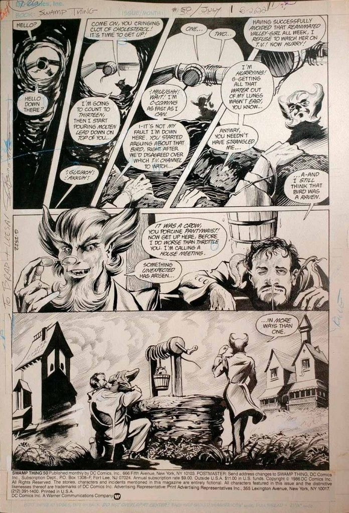 swamp-thing-original-comic-art