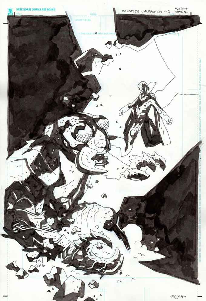 Mike-Mignola-original-comic-art