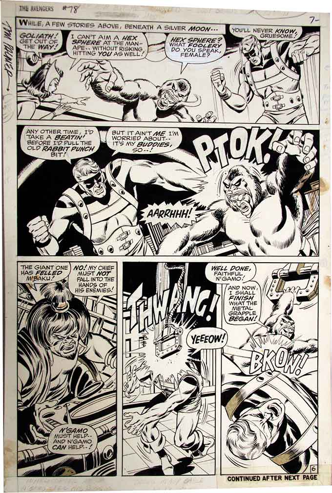 Sal-Buscema-original-comic-art
