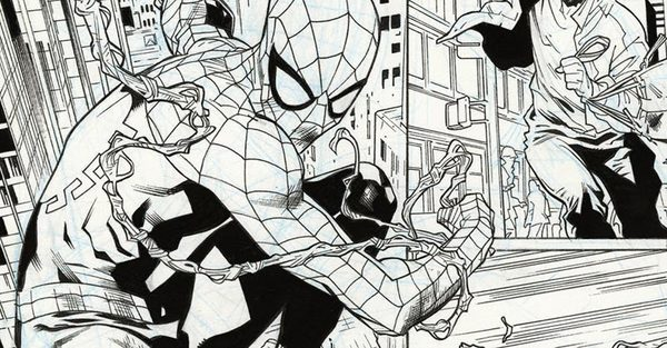 Spider-Man-original-comic-art