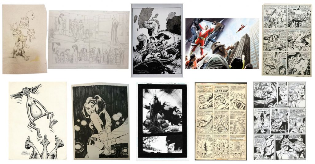 Original Comic Art Sold on eBay – Summer 2019 Top Ten
