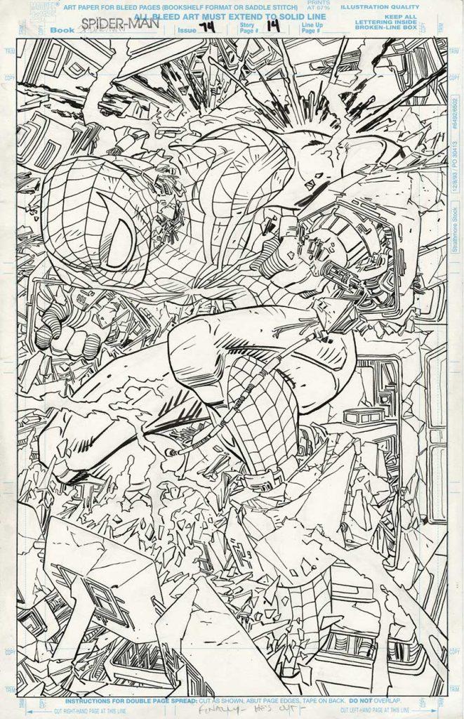 romita-jr-spider-man-original-art