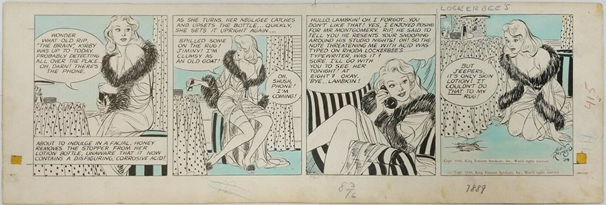 alex-raymond-original-comic-art