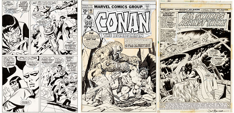 john-buscema-original-art-exhibition