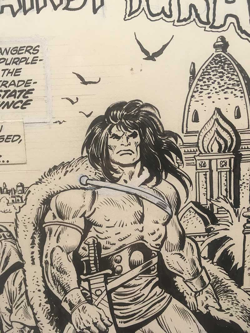 john-buscema-original-comic-art
