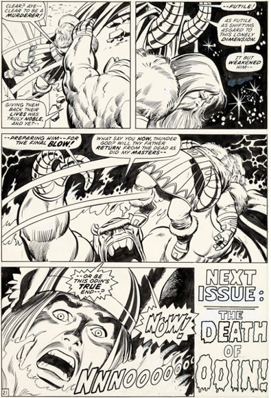 thor-original-comic-art