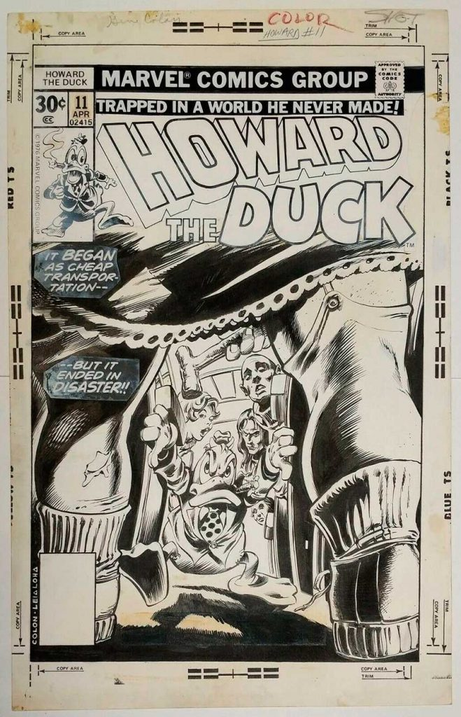 gene-colan-original-comic-art