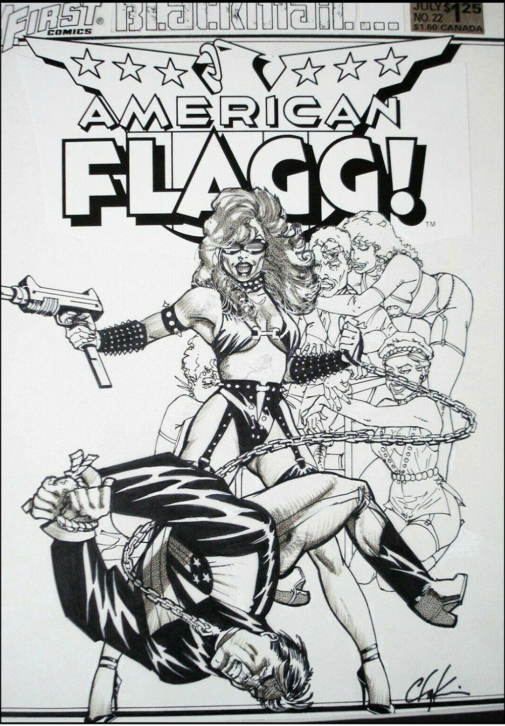 howard-chaykin-original-comic-art