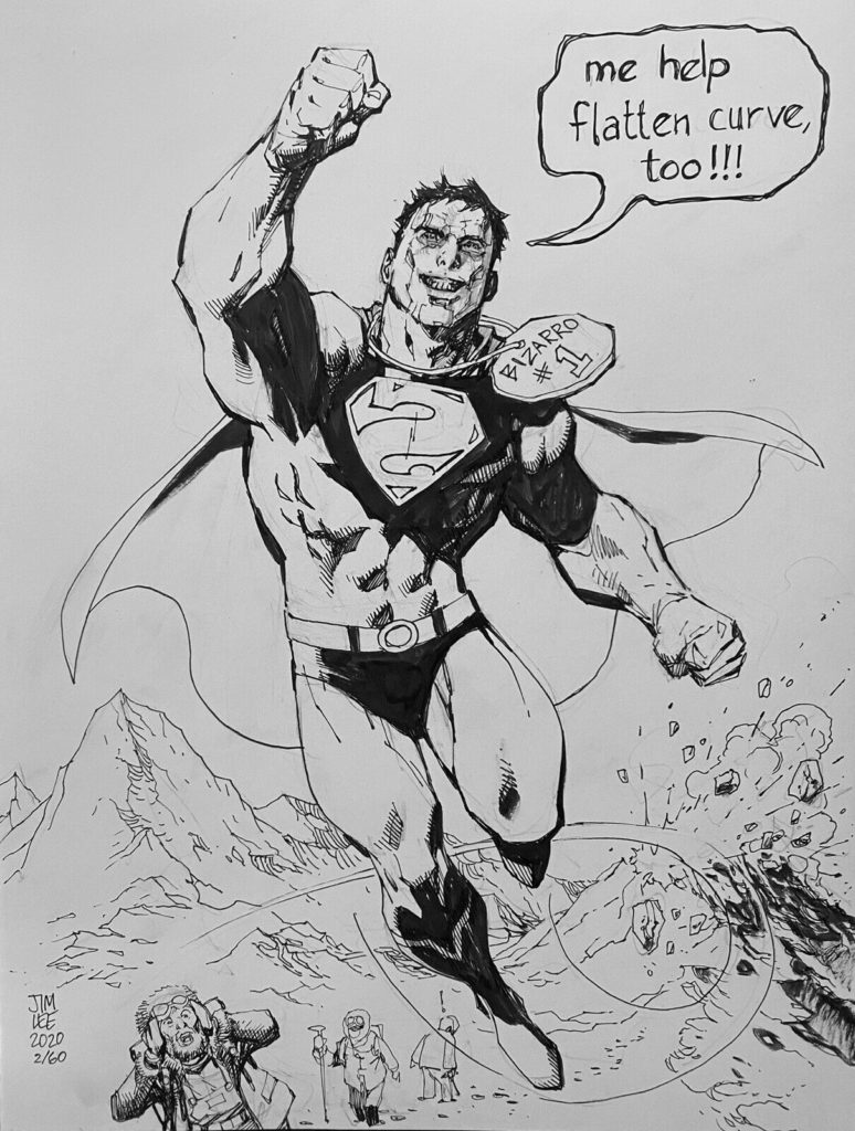 jim-lee-bizarro-original-comic-art