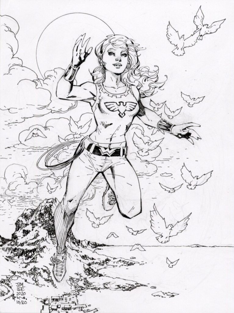 jim-lee-wonder-girl-original-art